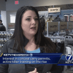 Rising Interest in Handgun Permits, Active Killer Training