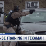 Law Enforcement Agencies Train in Tekamah