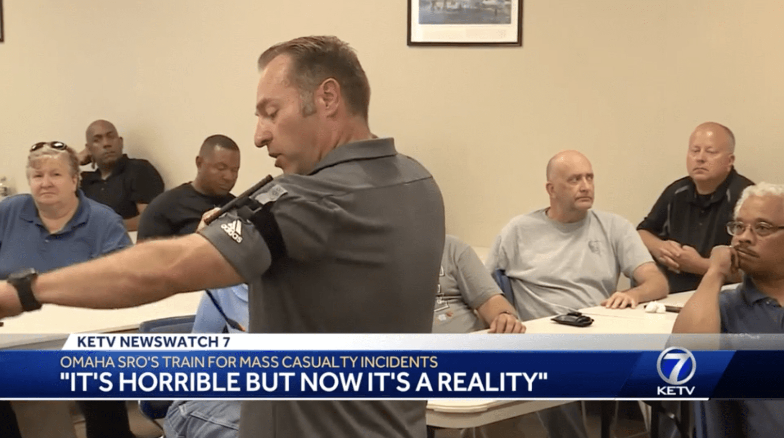 School Resource Officers Train for Mass Casualty Incident