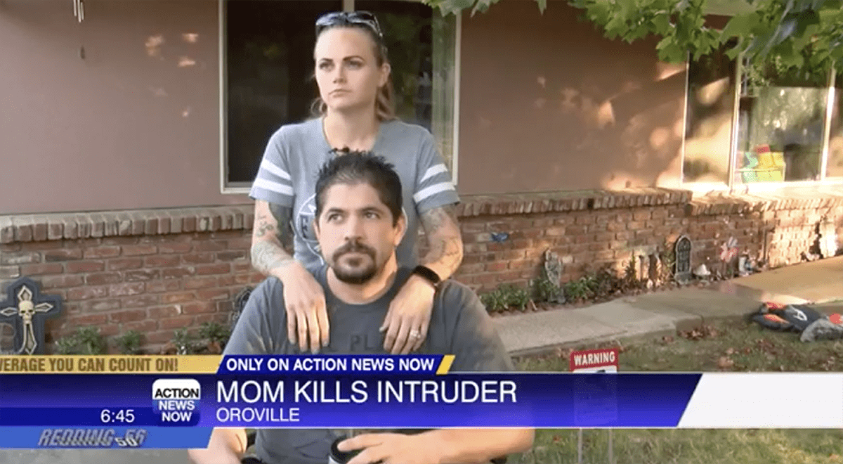 Oroville Mom Shares Story After Killing Intruder